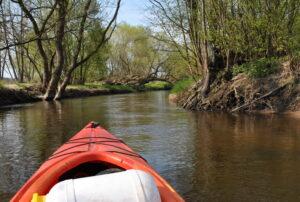 uroki wiosennych spływów kajakowym