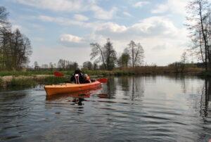 Cisza i spokój na rzece