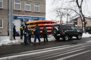 wyjazd na spływ zimowy